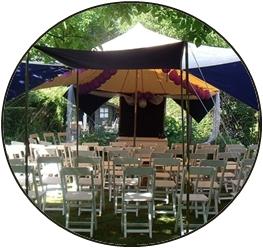 Iets te vieren stretchtent nodig jouw feest meintent - Tent voor terras ...